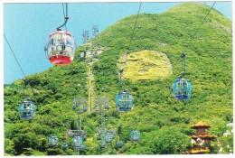 Hong Kong : Ocean Peak Cable Cars (Aerial Tramway) - China (Hongkong)
