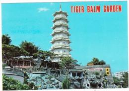 Hong Kong : Tiger Balm Garden - Pagoda - China (Hongkong)