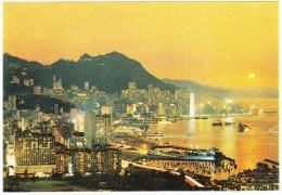 Hong Kong : Dusk Scene Of Victoria - China (Hongkong)