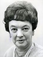 United Kingdom Politics Evelyn Baroness Denington Labour Party Old Photo 1969