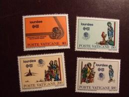 VATICANO 1981 LOURDES NUOVO ** - Vaticano
