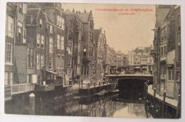 DORDRECHT VOORSTRAATSHAVEN EN SCHEFFERSPLEIN VIAGGIATA 1908 FP - Dordrecht