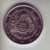 Finlandia - 2 Euro Commemorativo 2012 - 10° Anniversario Euro - Finlandia