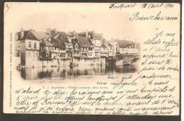 36 Argenton. Vieilles Maisons. Rive Droite - France
