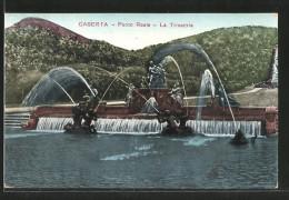 Cartolina Caserta, Parco Reale, La Trinacria - Caserta