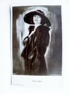 Old Post Card Cinema Film Actor Actress Ross Pola Negri Hat Bonnet - Actors