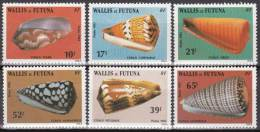 """Wallis YT 306 à 311 """" Coquillages """" 1983 Neuf** - Nuevos"""