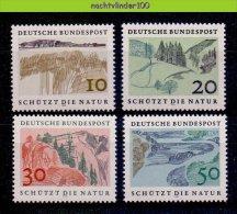 Ncz049 MILIEUBESCHERMING BERGEN MOUNTAINS ENVIRONMENT PROTECTION SCHÜTZT DIE NATUR DEUTSCHE BUNDESPOST 1969 PF/MNH - Milieubescherming & Klimaat