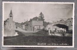 HAUTBOS . L'Eglse -- La Grotte . Photo . - Autres Communes