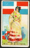 Victoria Chocolates : Arms, Flags And Types Of Nations (numbered, +/- 1905) : St. Domingue (Santo Domingo) - Victoria