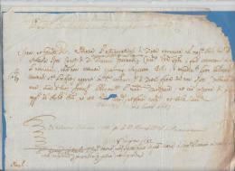 1683 REPUBBLICA Di VENEZIA SENTENZA Di PIGNORAMENTO In DOLO??-e545 - Manoscritti