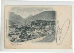 1900 SOTTO TARVISIO Cartolina PANORAMA-viaggiata-e549 - Autres Villes