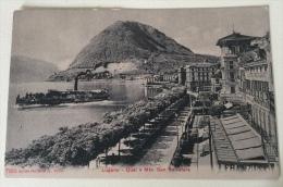 Lugano Quai E Monte S. Salvatore Nv Fp - TI Tessin