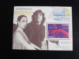 Espagne - Année 2006 - Espana 06 (El Canto Del Loco) - Y.T. 3873 (BF 153) - Neufs (**) Mint (MNH) Postfrisch (**) - 1931-Hoy: 2ª República - ... Juan Carlos I