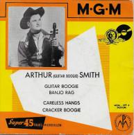 Arthur Smith 45t. EP *guitar Boogie* - Country Et Folk