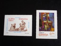 Espagne - Année 2006 - Noël (autoadhésif) - Y.T. 3880/3881 - Neufs (**) Mint (MNH) Postfrisch (**) - 1931-Hoy: 2ª República - ... Juan Carlos I