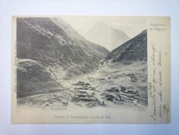 BAGNERES-de-BIGORRE  :  CABANES  De  TRAMEZAIGUES  -  Le  PIC Du MIDI      1902 - Bagneres De Bigorre