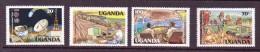 OUGANDA-UGANDA  1983 ANNEE DES TELECOMS  YVERT N° NEUF MNH** - Telecom