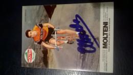 Merckx Eddy Molteni Autographe Manuscrit - Cyclisme