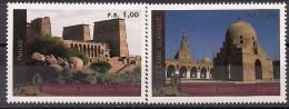 2005 UNO Genf  Mi. 518-9 **MNH     UNESCO-Welterbe: Ägypten - Ungebraucht
