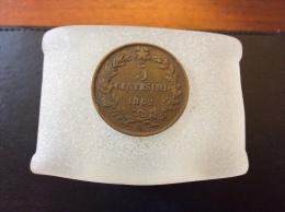 5 Centesimi 1862 N - 1861-1946 : Kingdom