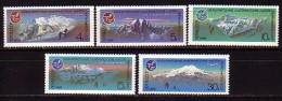 RUSSIA / RUSSIE - 1986 - Sport - Alpinisme  - 5v** - Bergsteigen