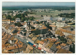 *a* LURE - Vue Aérienne, Av. De La République, Eglise St-Martin, Lycée Municipal - édit. CIM - Format CPM - 2 Scans - Lure