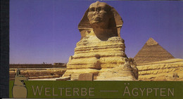 2005 UNO Wien Mi. MH 10 **MNH     UNESCO-Welterbe: Ägipten - Wien - Internationales Zentrum