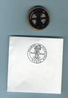 2014 PARIS Couronne De 38mm  Tiflex Pour Oblitérations Philatéliques Et 1er Jour - Seals