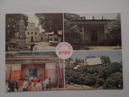 ASIA ASIE CHINA CHINE MACAU MACAO COLOANE MULTI VIEWS  1960 YEARS POSTCARD - Chine