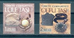 Turkey, Yvert No 3736/3737, MNH - Nuevos