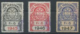 1098 - VAUD Fiskalmarken - Fiscaux