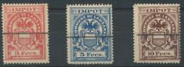 1105 - LAUSANNE Fiskalmarken - Steuermarken