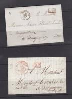 Marque Postale Marseille - Marcophilie (Lettres)