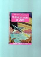 DANIBER Suspence : Le Secret Des  Anneaux De Saturne   Par DONALD A . WOLLHEIM  ,190 Pages, N° 5 - Daniber