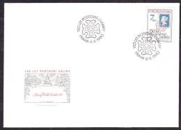 CZECHOSLOVAKIA 1990, FDC COVER. 150 YEARS OF POSTAL STAMP. Condition, See The Scans. - Journée Du Timbre