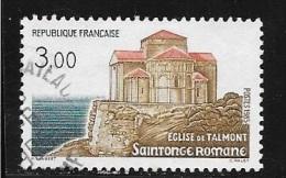 N° 2352  FRANCE  - OBITERE  - SAINTONGE ROMANE EGLISE DE TALMONT  -  1985 - Gebraucht