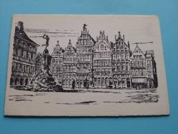 De BLESER Meubelen Van Kerckhovenstraat 52-58 Antwerpen 1( Wensen Anno ??) ( Zie Foto´s ) !! - Nouvel An