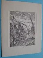 Etn. INCA P.v.b.a. ( Havenbedrijvigheid ) Korte Leemstraat 47 Antwerpen ( Wensen Anno ??) ( Zie Foto´s ) !! - Nouvel An