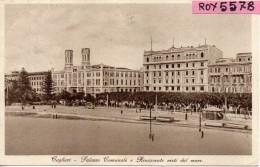 Sardegna-cagliari Palazzo Comunale E Rinascente Visti Dal Mare Anni 30 - Cagliari
