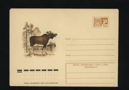 USSR 1974 Postal Cover Fauna Elk  (334) - Autres