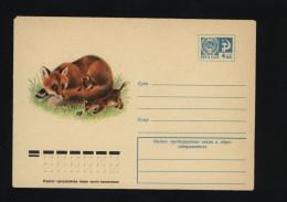 USSR 1977 Postal Cover Fauna Fox  (336) - Autres