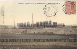 Société Des Aciéries De La Marine Et D'HOMECOURT - Les Hauts-Fourneaux - Couleur - Homecourt