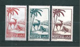 Colonie  Timbre Du Maroc De 1945/47  N°234 A 236  Neufs - Marruecos (1891-1956)