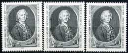 A10-55-4) Berlin - 3x Michel 454 - ** Postfrisch (B) - Quantz - Unused Stamps