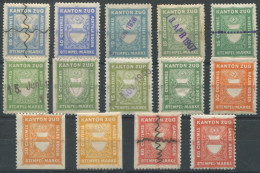 1120 - ZUG Fiskalmarken - Steuermarken