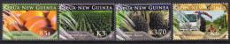 Papua New Guinea 2009 Oil Palm Farming Set Of 4, MNH (C) - Papua New Guinea