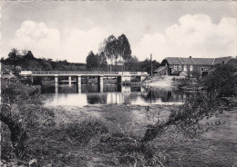 CPSM Dentelée BELGIQUE BELGIUM WANLIN Sur LESSE Le Pont Et Le Moulin à Eau Watermill - Belgium