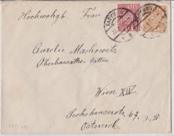 RADYMNO (Basses-Carpates) - Polen - Poland Mail Cover To Wien - Lettre Pologne - Enveloppe Timbrée De 1934 Pour Vienne - 1919-1939 Republic