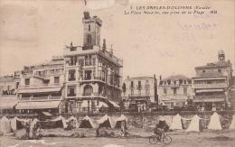 Les Sables-d´Olonne La Place Navarin Vue Prise De La Plage - Sables D'Olonne